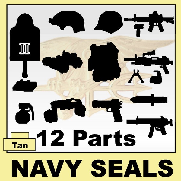NAVY SEALS(II) 12+Parts+Giftx1 -Tan