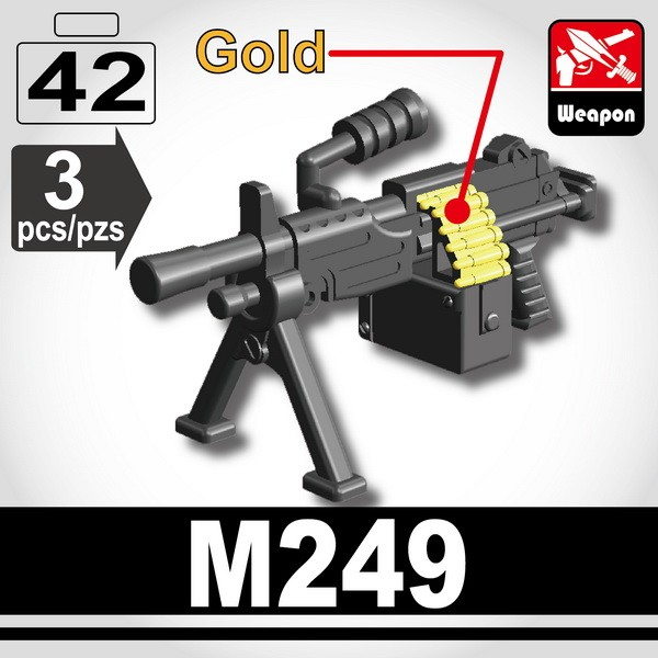 Iron Black_Machine gun (M249)