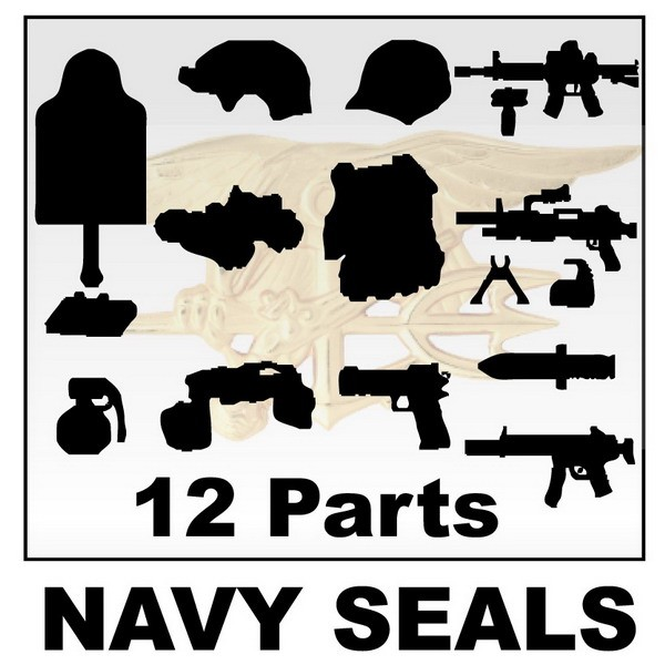 NAVY SEALS 12+Parts+Giftx1 -White