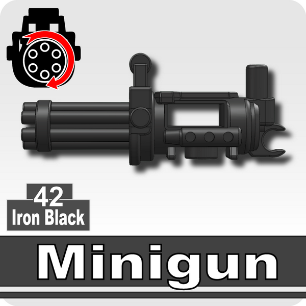 Minigun-Iron Black