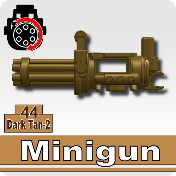 Minigun-Dark Tan-2