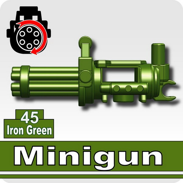 Minigun-Iron Green