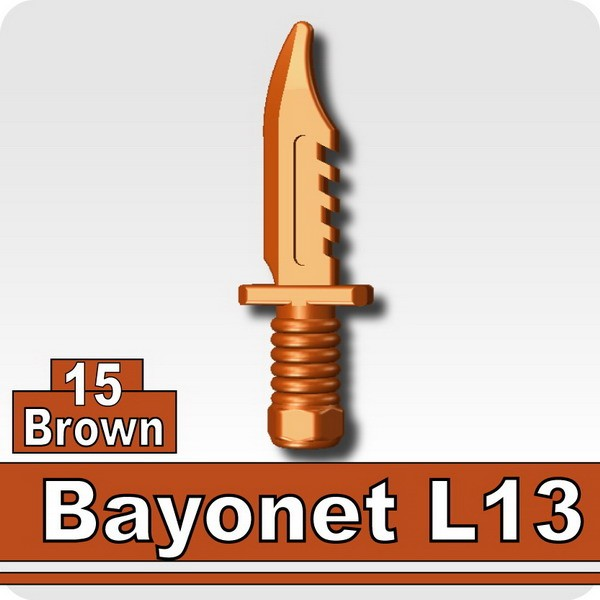 Bayonet L13-Brown