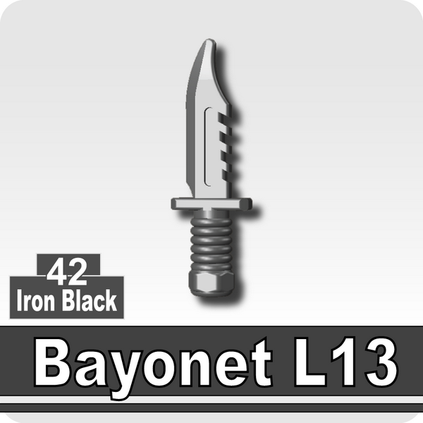 (42)Iron Black_Bayonet L13
