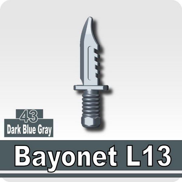 Bayonet L13-Dark Blue Gray