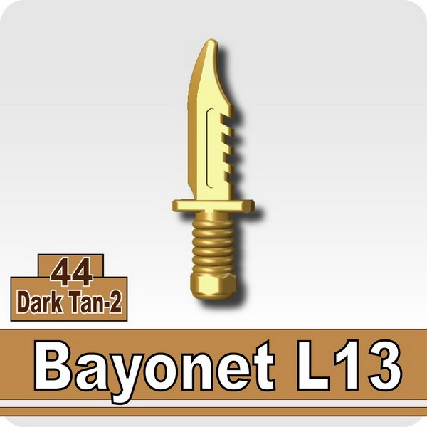 Bayonet L13-Dark Tan-2