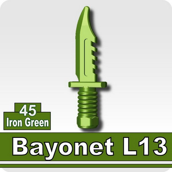 Bayonet L13-Iron Green