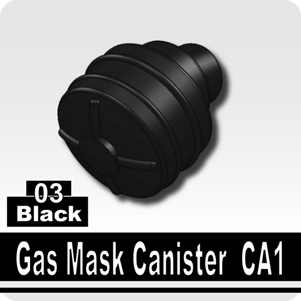 Black_Gas Mask Canister CA1