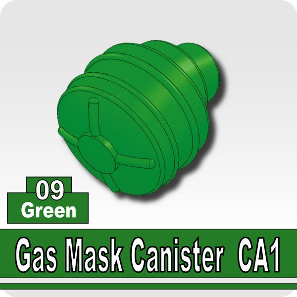 Green_Gas Mask Canister CA1