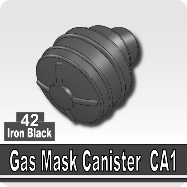 Iron Black_Gas Mask Canister CA1