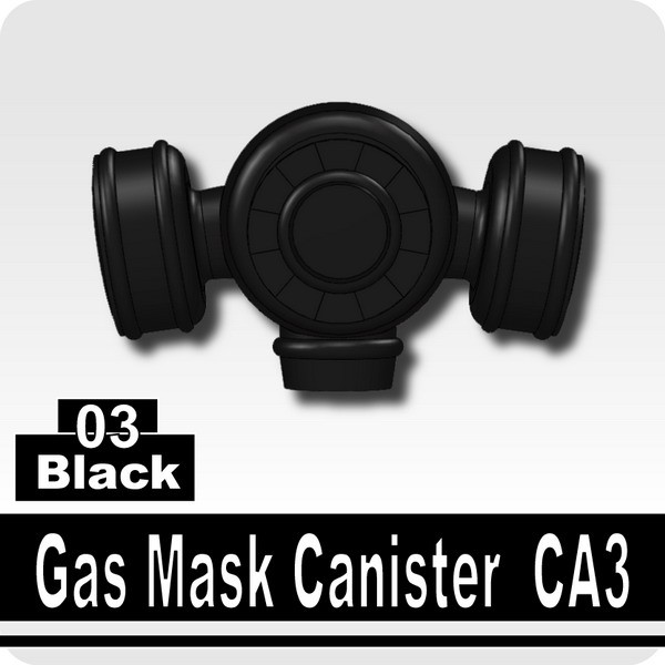 Black_Gas Mask Canister CA3