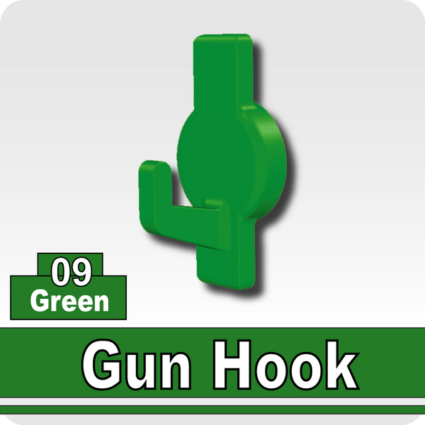 Gun Hook-Green