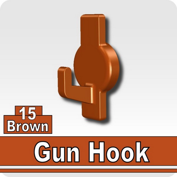 Gun Hook-Brown
