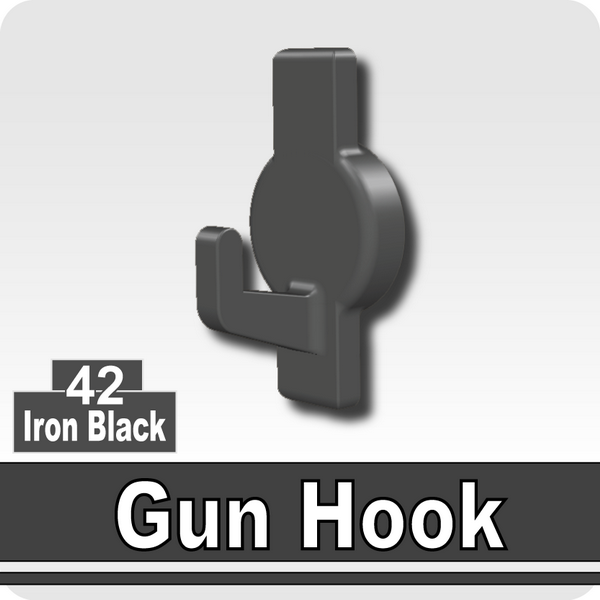 Gun Hook-Iron Black