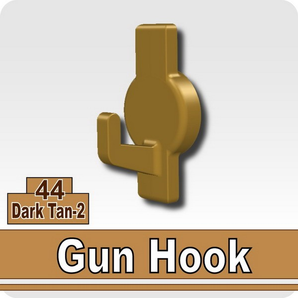Gun Hook-Dark Tan-2
