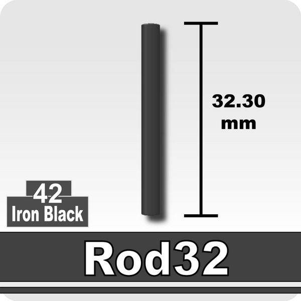 Rod32-Iron Black