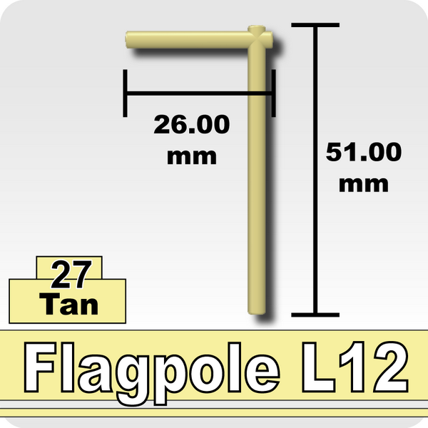 Flagpole L12-Ten