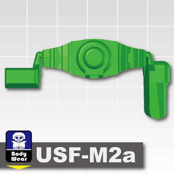 Green_Tactical Belt (USF-M2a)