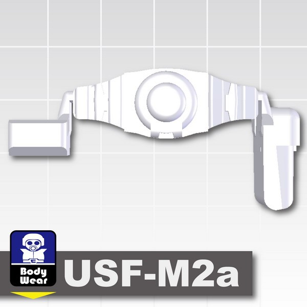 Very Light Gray_Tactical Belt (USF-M2a)