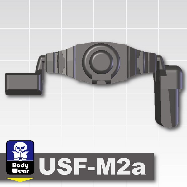 Pearl Dark Black_Tactical Belt (USF-M2a)