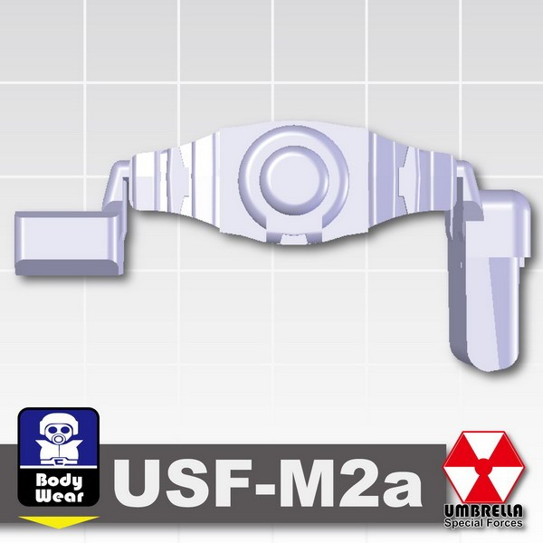 Light Silver_Tactical Belt (USF-M2a)