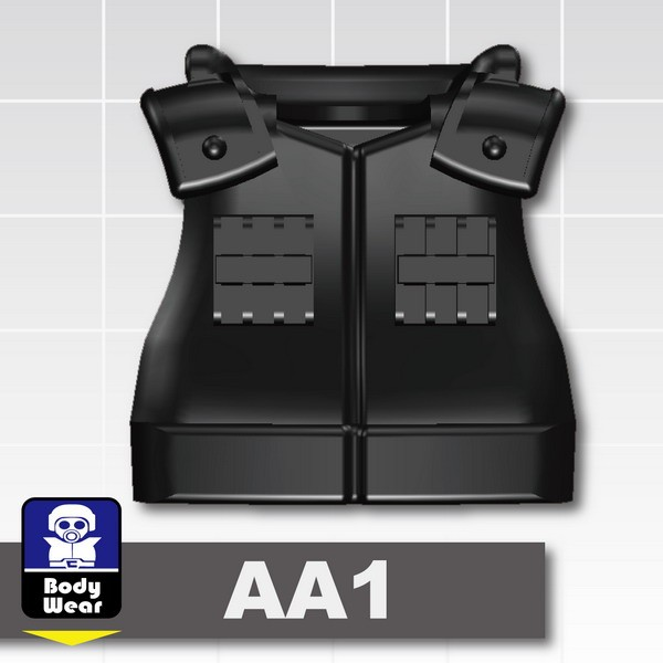 Black_Tactical Vest(USF-AA1)