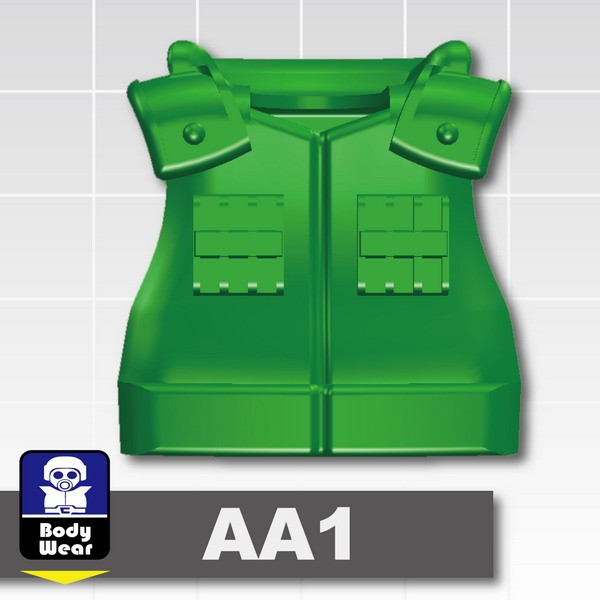 Green_Tactical Vest(USF-AA1)