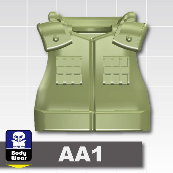 Sand Green_Tactical Vest(USF-AA1)