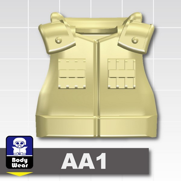 Tan_Tactical Vest(USF-AA1)