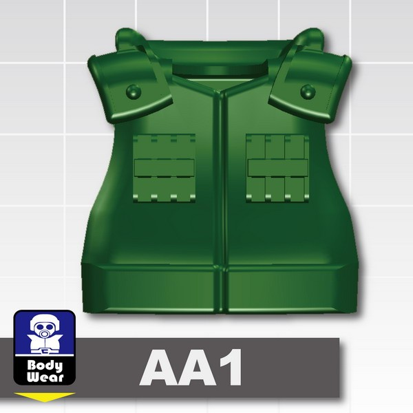 Dark Green_Tactical Vest(USF-AA1)