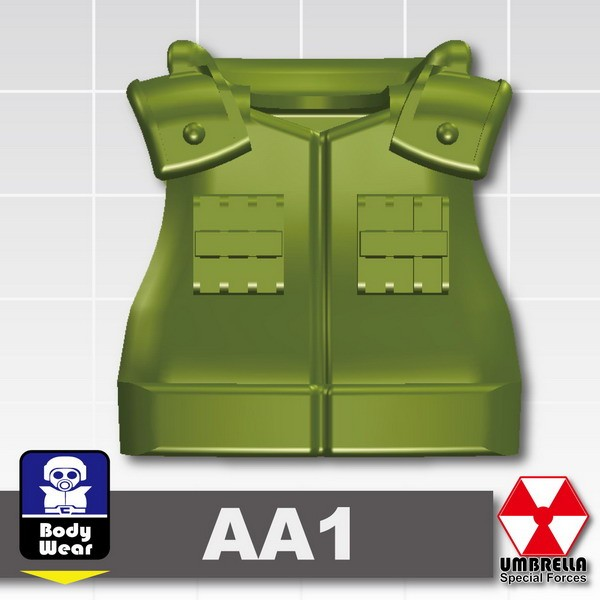 Tank Green_Tactical Vest(AA1)