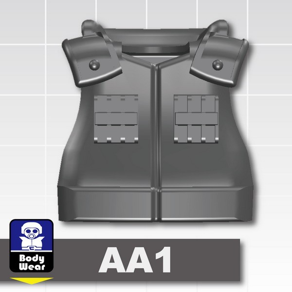 Iron Black_Tactical Vest(USF-AA1)