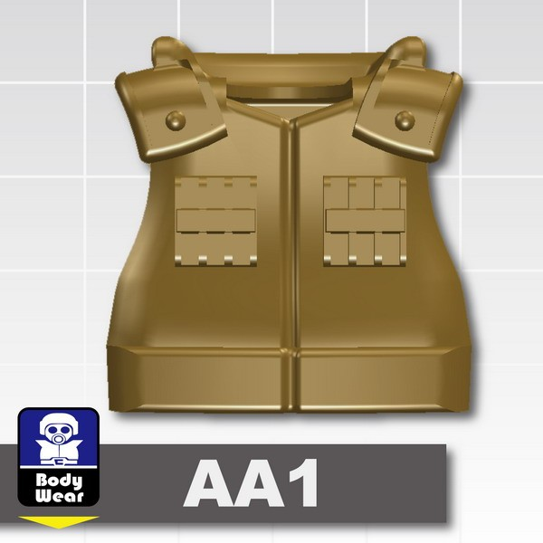 Dark Tan-2_Tactical Vest(USF-AA1)