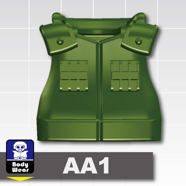 Iron Green_Tactical Vest(USF-AA1)