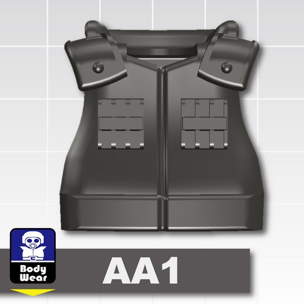 Pearl Dark Black_Tactical Vest(USF-AA1)