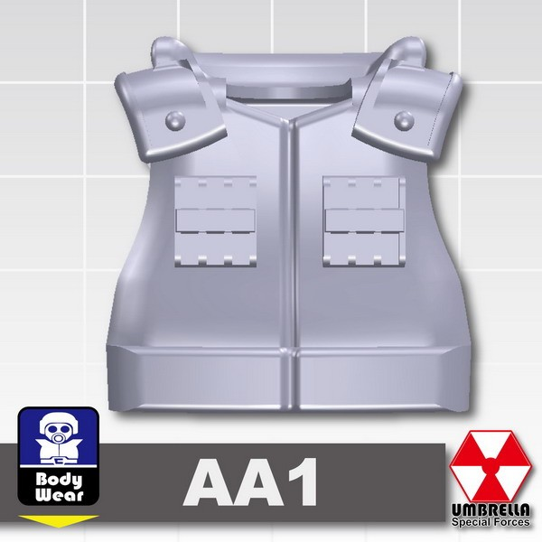 Light Silver_Tactical Vest(AA1)