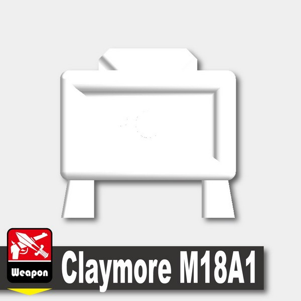White_Claymore M18A1