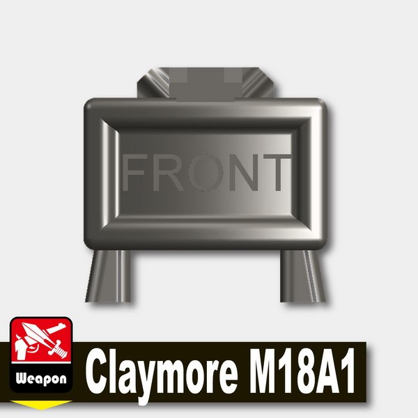 Pearl Dark Black_Claymore M18A1