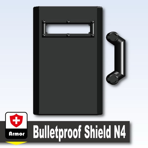 Black_Bulletproof Shield N4