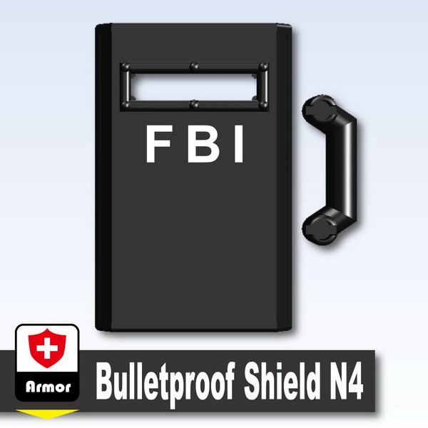 Black_Bulletproof Shield N4 (FBI)