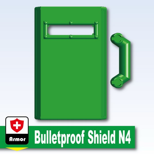 Green_Bulletproof Shield N4