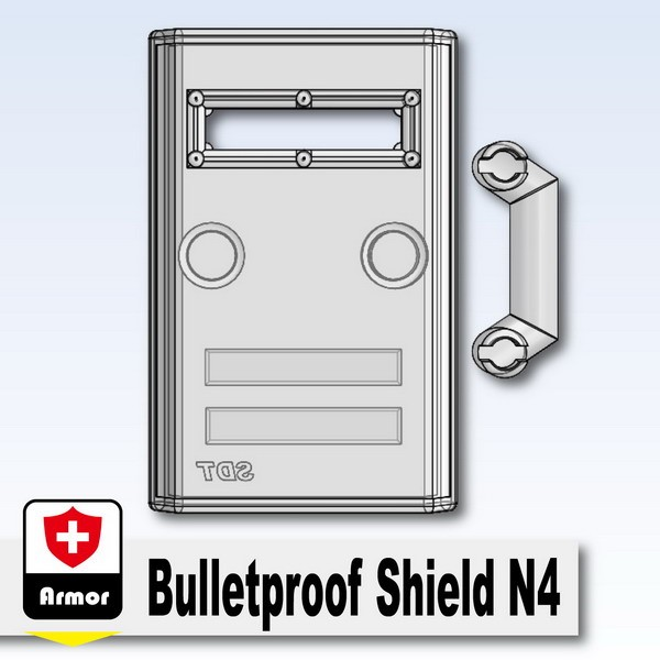 Mx Clear_Bulletproof Shield N4