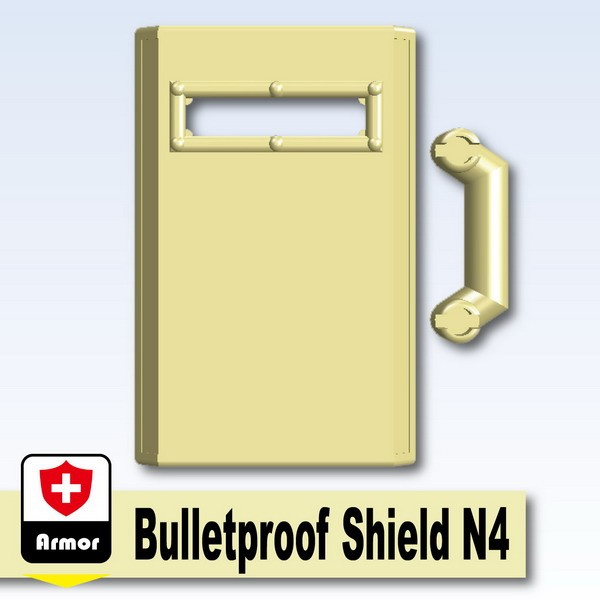 Tan_Bulletproof Shield N4