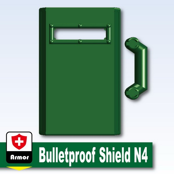 Dark Green_Bulletproof Shield N4