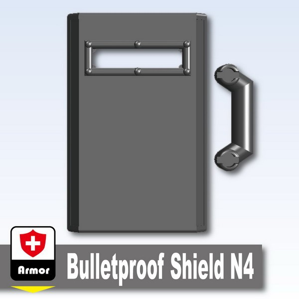 Iron Black_Bulletproof Shield N4