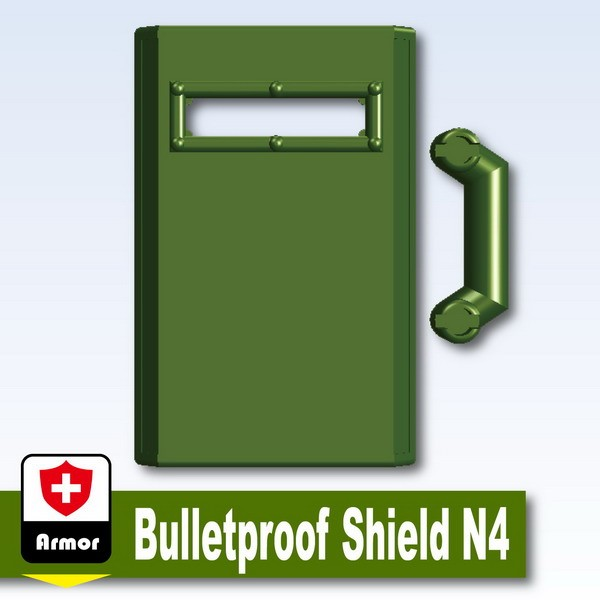 Iron Green_Bulletproof Shield N4