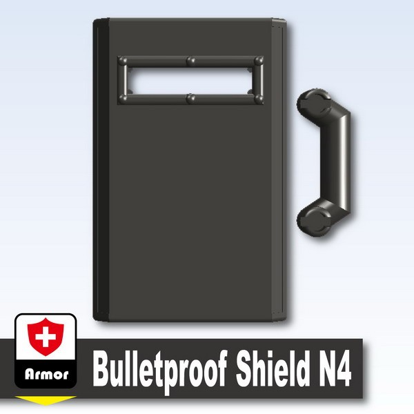 Pearl Dark Black_Bulletproof Shield N4