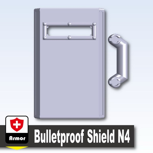 Light Silver_Bulletproof Shield N4