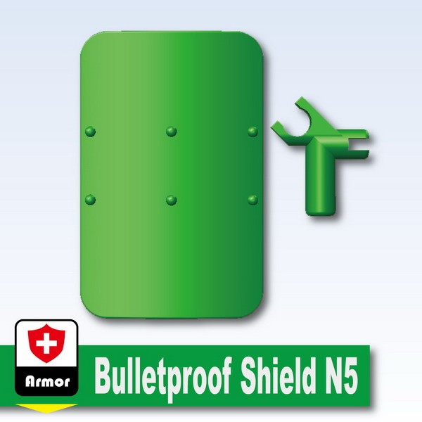 Green_Bulletproof Shield N5