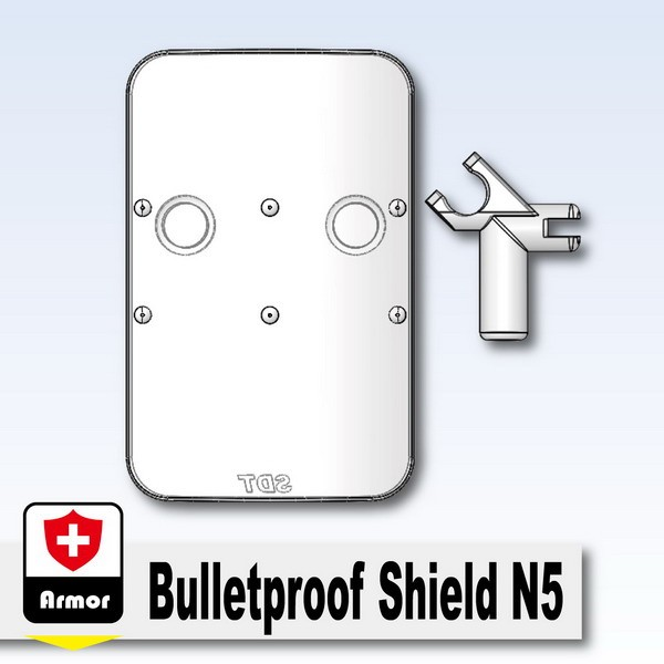 Mx Clear_Bulletproof Shield N5